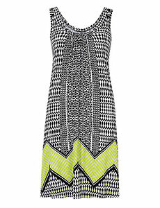B New Ex Marks&Spencer Black Mix Beachwear Dress sizes 8-10-12-14-16-18-20-22