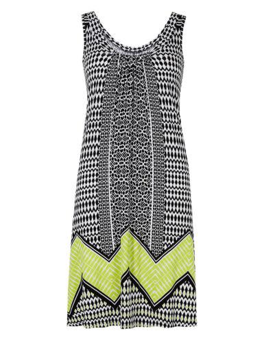 B New Ex M/&S Black Mix Beachwear Dress sizes 8-10-12-14-16-18-20-22