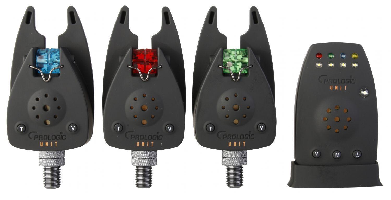 ProLogic Unit Bite Alarm set 31 Indicatore di morso bissanzeigerset Radio Indicatore di morso