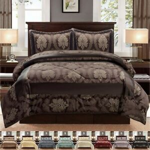 Quilted-Bedspread-Throw-Comforter-Bed-Set-with-Pillowcase-Double-King-Super-King