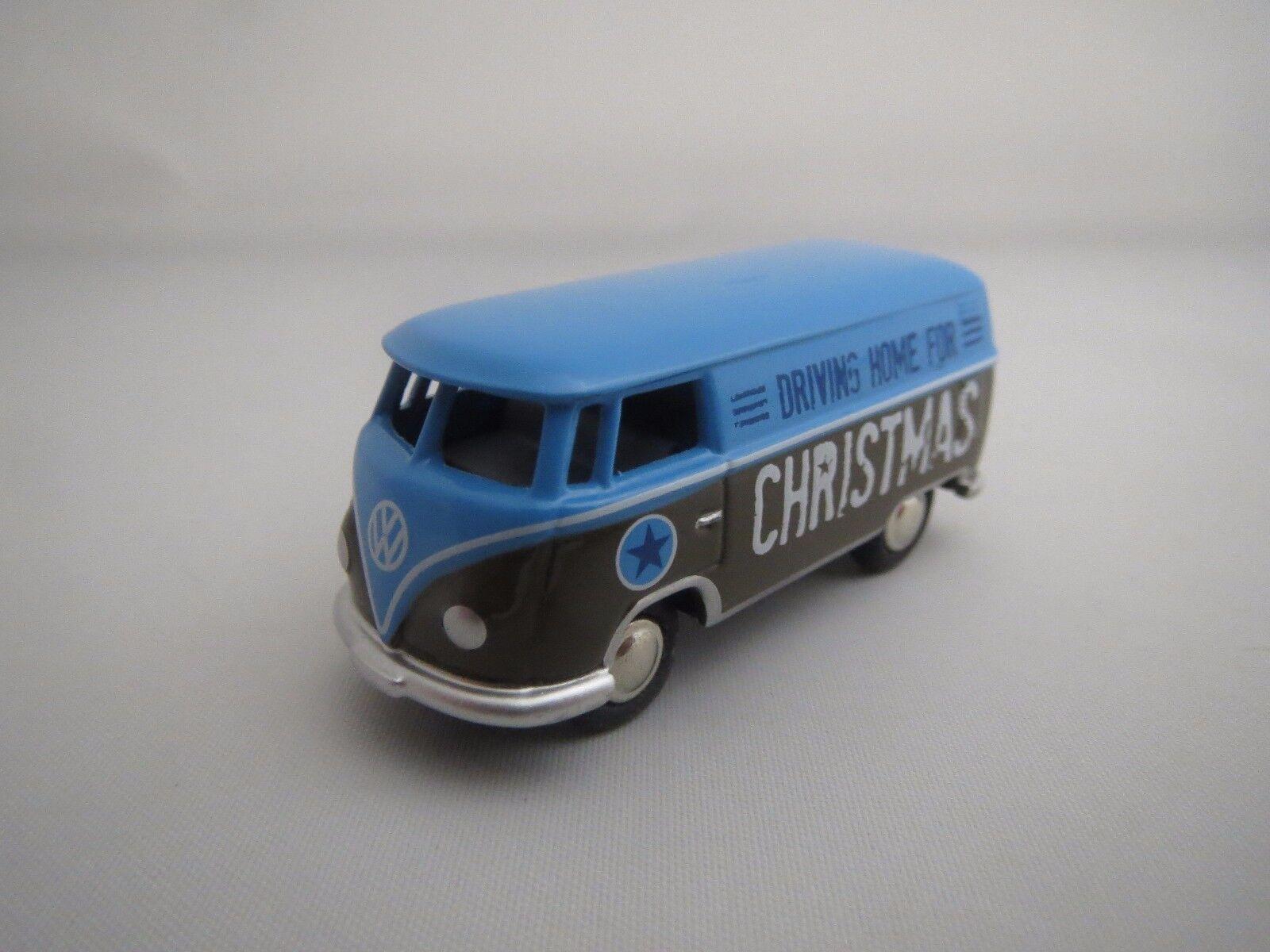 Bouèbe volkswagen t1 Bus  Christmas Edition 2012  1 87 Neuf dans sa boîte