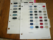 1987 1990 Honda Acura PPG Paint Color Chips