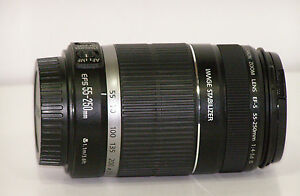 Canon-EF-S-55-250-mm-f-4-5-6-IS-Zoom-Lens-EFS-55-250mm-IM-Manual-MINTY