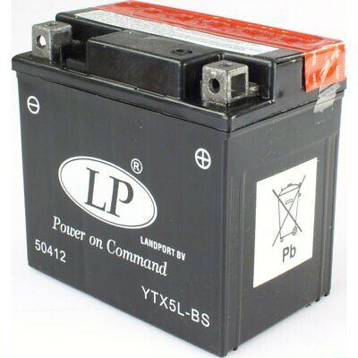 Consegna Veloce Batteria Ytx5l-bs 12v/4ah Din50412 Yamaha Wr- Alleviare Il Calore E La Sete.