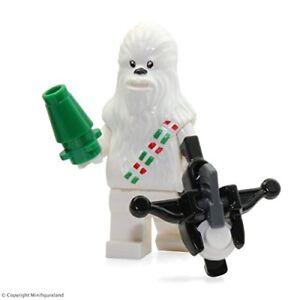 Lego-Star-Wars-Exclusive-Schnee-Chewbacca-Minifigur-aus-Adventskalender-75