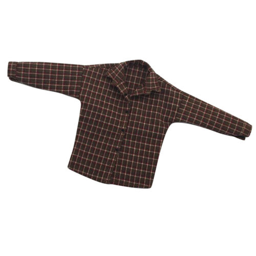 1//6 Stoff Karo Hemd Bekleidung Zubehör für 12 /'/' männliche Action Figur