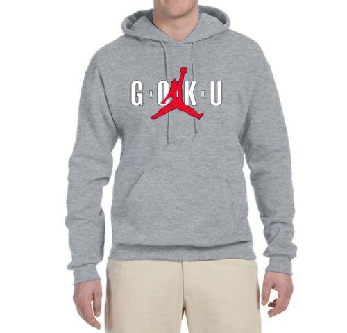 Air Goku Funny DBZ Unisex Sweatshirt Graphic TV Inspired Dragon Ball Hoodie