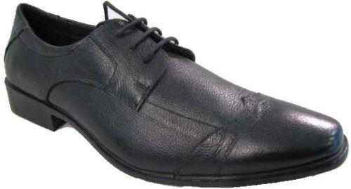A Noir Chaussures 42 Richelieu P002 Lacets Cuir Hommes Pointure UWxxgnSw