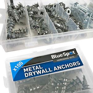 Plasterboard Rawl Plugs. Dry Wall Speed Raw Plugs. Metal Fixing Anchors & Screws