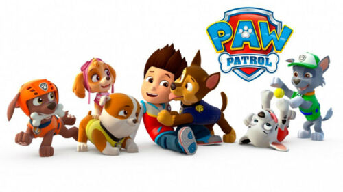 2 X Walking falando Paw Patrol Brinquedo Musical Rubble Marshall Chase Rocky Zuma Skye
