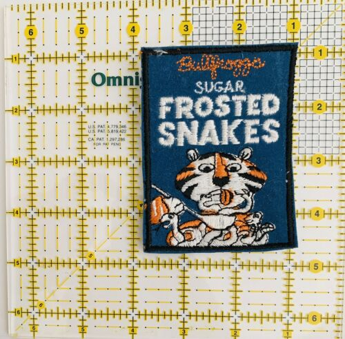 1970/'S Vintage WACKY KOOKY Sugar Frosted Snakes Spoof Frosted Flakes