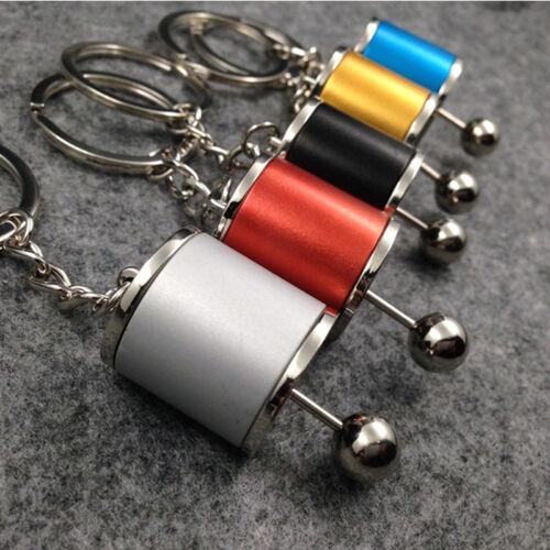 Unique New Alloy Gearshift Gear Shift Keychain Gear Head Keychain Keyring
