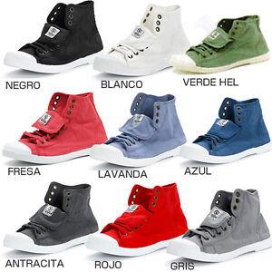 Neu-Natural-World-Damen-Sneaker-Schuhe-Hoher-Ausschnitt-Bota-amp-Sport-107-amp-102