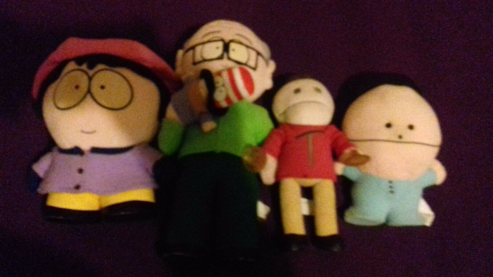 South South South park rare joblot mr garrison 13.5  wendy 10  terence 10.5  ike 8.5  VGC d70251