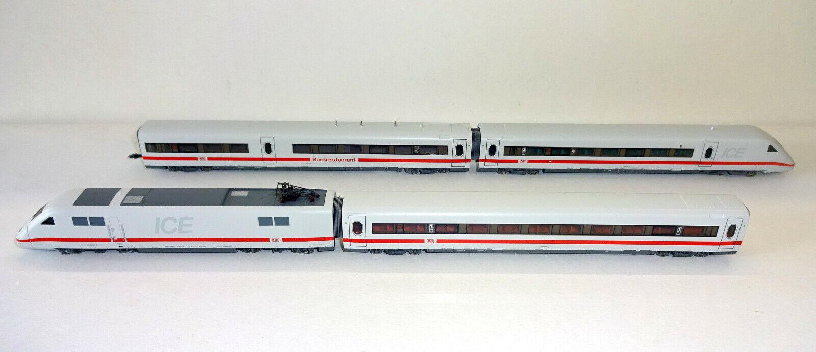 Fleischmann N Tren Alta Velocidad Ice 2 de la DB Ag 4 Piezas  DCC Digital  Nuevo