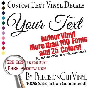 image is loading custom vinyl lettering wall decal text vinyl custom