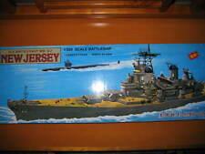 Battleship-戰艦模型米海兵單車大炮艦-新澤西號(料啫時)-US Navy Battleship BB-62 New Jersey 1:350 Made in China