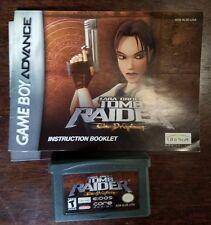 Lara Croft: Tomb Raider -- The Prophecy (Nintendo Game Boy Advance, 2002)