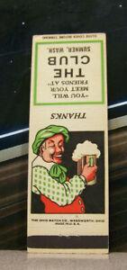 Vintage-Matchbook-Cover-Y5-Sumner-Washington-Club-Meet-Your-Friends-Beer-Mug-Guy