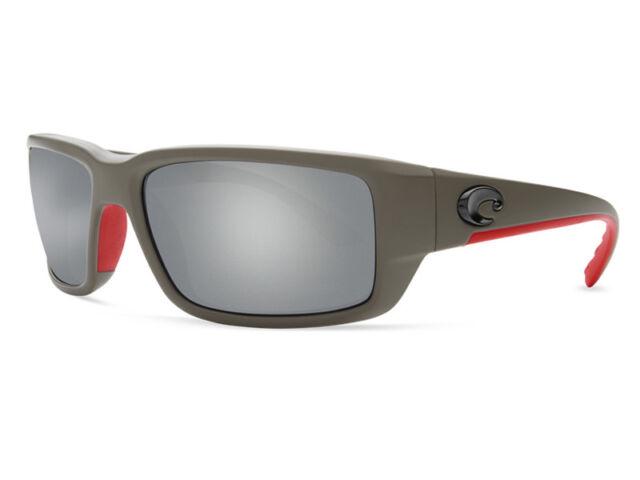 7cadcca787faf Costa Del Mar Fantail Polarized Sunglasses Tf196 Osgglp Race silver 580g  Glass