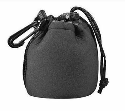 50mm f/1.8 80mm x 90mm Neoprene Soft Camera Lens Pouch Case for Canon EF S Size