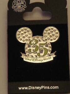 Pins-collector-anniversaire-35-ans-WALT-DISNEY-WORLD-Disney-Pin-Trading-NEUF
