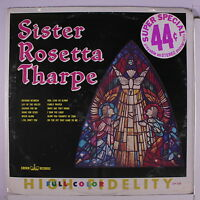 Sister Rosetta Tharpe: Sister Rosetta Tharpe Lp Sealed (mono, Sl Corner Bends)