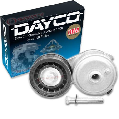 Dayco Drive Belt Pulley for 1999-2013 Chevrolet Silverado 1500 4.3L V6 st