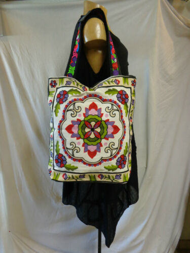 Brode Bag Ethnique Sac Embroidered Hmong Neuf EWR4Wnqf