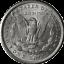 1888-O-Morgan-Silver-Dollar-Brilliant-Uncirculated-BU thumbnail 2