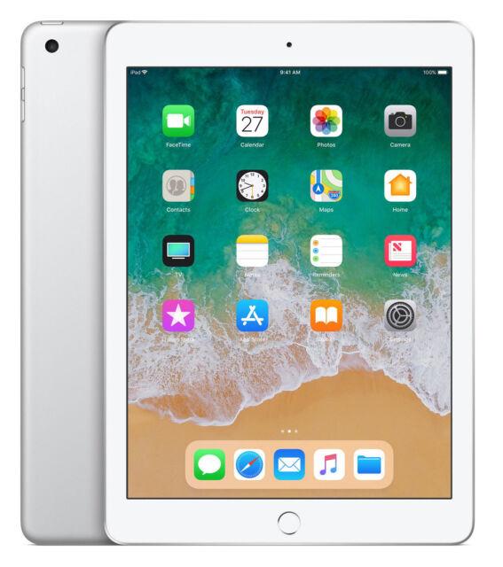 Apple IPad 6th Gen. 32GB, Wi-Fi, 9.7in - Silver CA  - $140.00