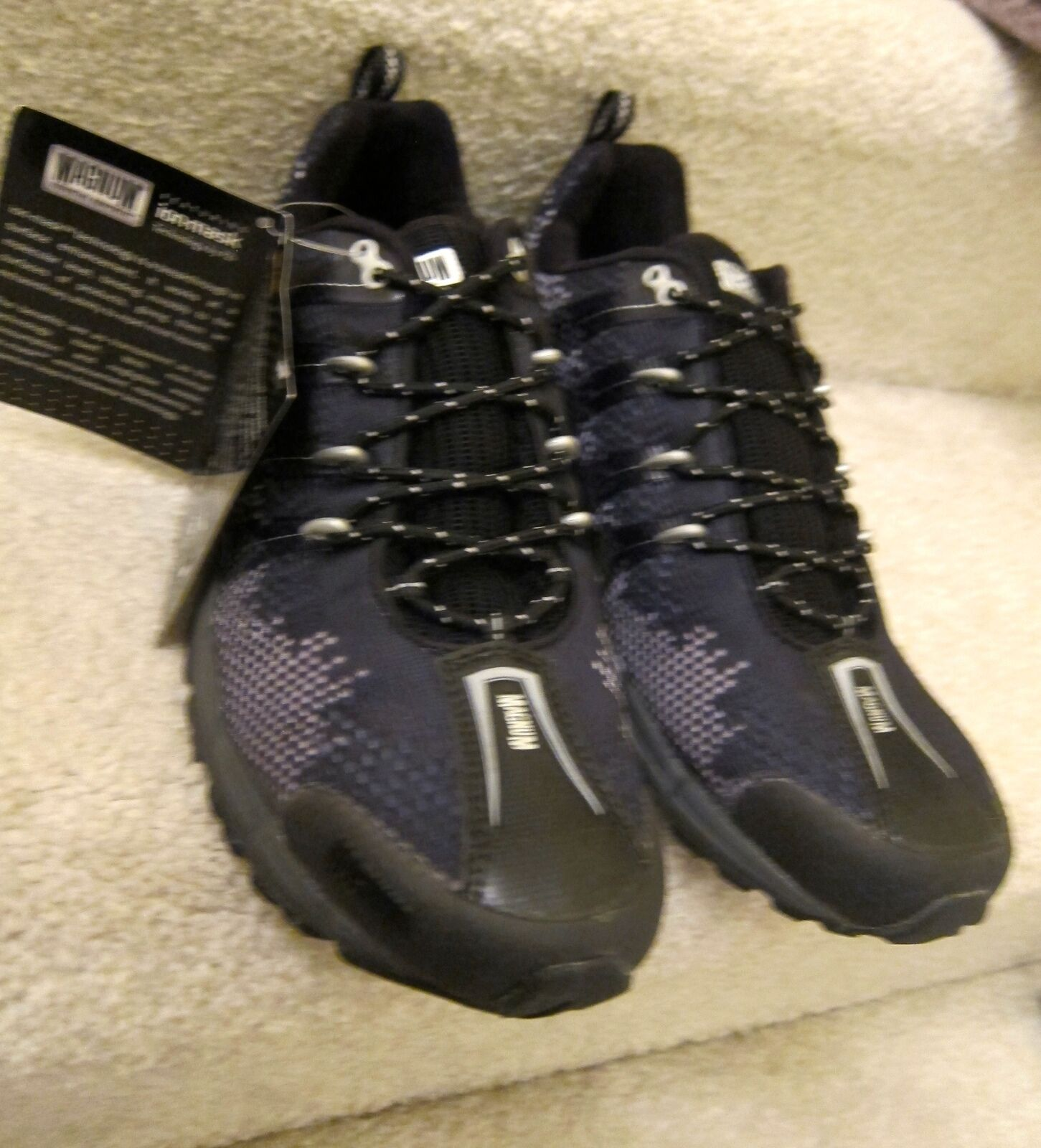 12 M MAGNUM 5382 INTREPID HPI WATERPROOF ATHLETIC RUNNING TACTICAL TRAIL SHOES