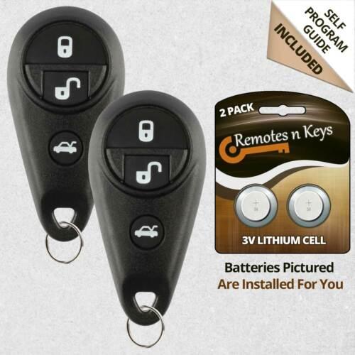 2 For 2006 2007 Subaru B9 Tribeca Legacy Outback Car Remote Control Key Fob