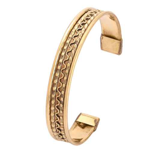Designer cuivre laiton Cap réglable Bracelet Cuff Bracelet Hommes Femmes