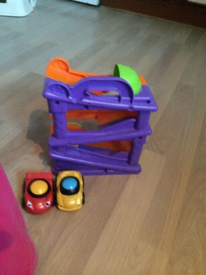 Aktivitetslegetøj, Sej bilbane med lyd og 2 biler., 12 til