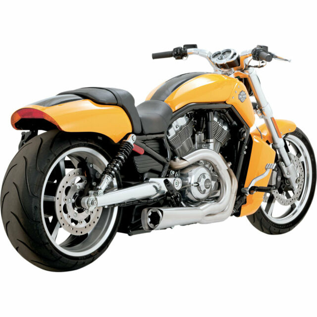 Vance & Hines Stainless Competition 2:1 Exhaust 2009-17 Harley V-Rod Muscle