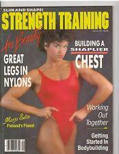 Strength Training For Beauty Female Bodybuilding female muscle /Marjo Selin 9-84
