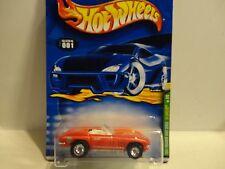 2001 Hot Wheels Treasure Hunt #1 Red '65 Corvette w/Real Riders