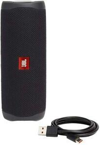 JBL Flip 5 Portable Waterproof Bluetooth Speaker - Black JBLFLIP5BLKAM - USED!