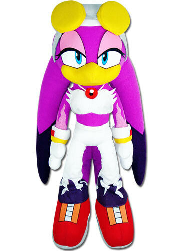 "52678 GENUINE Sonic The Hedgehog Wave The Swallow Stuffed Plush 13/"" GE"