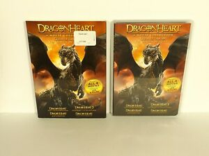 Dragonheart-4-Movie-Collection-DVD-mint-disc-with-SLIPCOVER