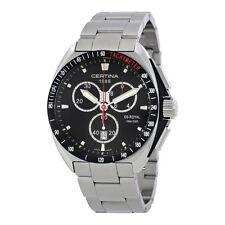 Certina DS Royal Chronograph  Black Dial Mens Watch C0104171105101