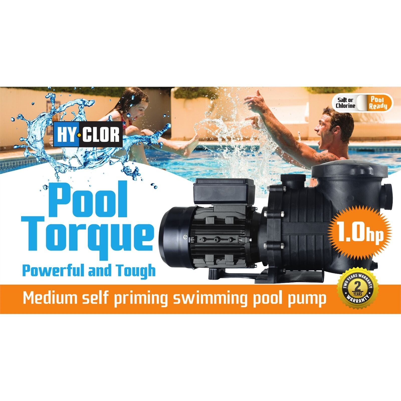 Hy-Clor POOL TORQUE PUMP Ideal for All Automatic Pool Cleaners, P100 or P150
