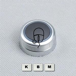 Neu-Chrome-Drehknopf-Multimediasystem-MMI-fuer-AUDI-A6-S6-C6-Allroad-A8-D3-RS6
