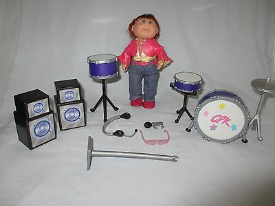 9 USED Cabbage Patch Kids Pop Star Mini Doll 7""