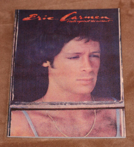 She Did It Eric Carmen 1977 sheet music songbook Boats Against The Current
