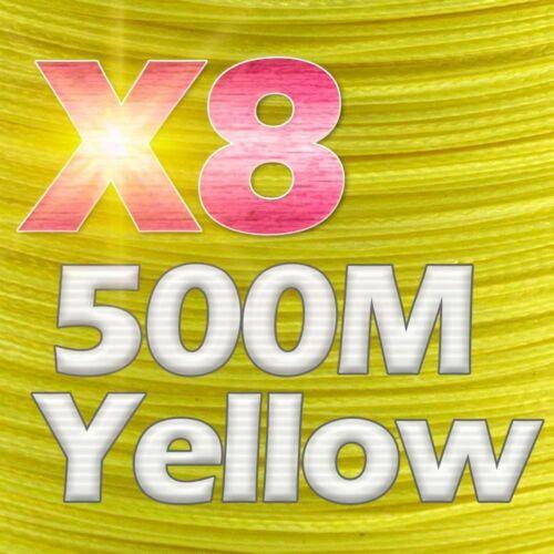 PE Braided Fishing Wire 300M 500M 1000M  8 Strands 10-78LB Multifilament Quality