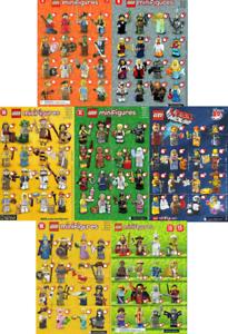 LEGO-MINIFIGURE-SERIE-4-9-10-11-MOVIE-12-13-Minifigurine-o-choix-Choose-NEW