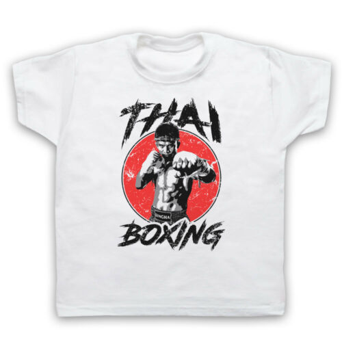 THAI BOXING MARTIAL ARTS STYLE FIGHTING MUAY BOXER MENS WOMENS KIDS T-SHIRT