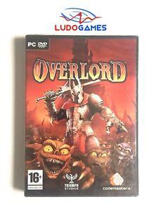 Overlord-PC-Scelle-Videogame-Scelle-Retro-Produit-Nouveau-Videojuego-Pal-Spa